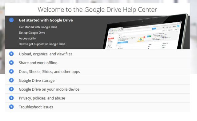 Helpcentrum Google Drive